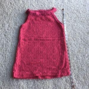 Ella Moss Halter Top.    Fuschia  Color.  Size XS
